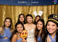 30005 - Joanne + Jimmy Wedding Photobooth 2017