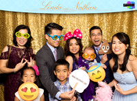 60022 - Linda + Nathan Wedding Photobooth 2017