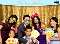 60023 - Linda + Nathan Wedding Photobooth 2017