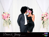 10339 - Diana + Jimmy Wedding Photobooth