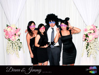 10333 - Diana + Jimmy Wedding Photobooth