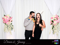 10325 - Diana + Jimmy Wedding Photobooth