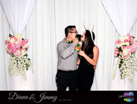 10326 - Diana + Jimmy Wedding Photobooth