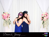 10329 - Diana + Jimmy Wedding Photobooth