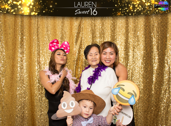 10007 - Lauren Sweet 16 Photobooth 2017