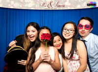 20014 - Mai + Simon Wedding Photobooth 2018