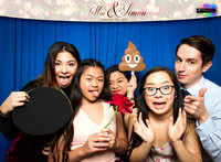 20013 - Mai + Simon Wedding Photobooth 2018
