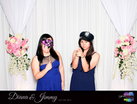 10327 - Diana + Jimmy Wedding Photobooth