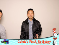 Caleb's First Birthday